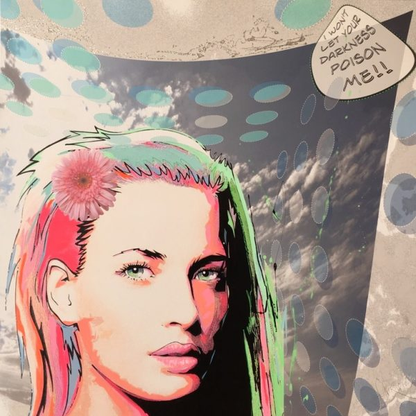 "David Cintract ""pop libre 120x120cm"