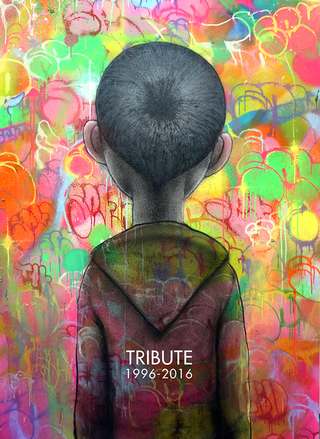Seth Globepainter Tribute. 2