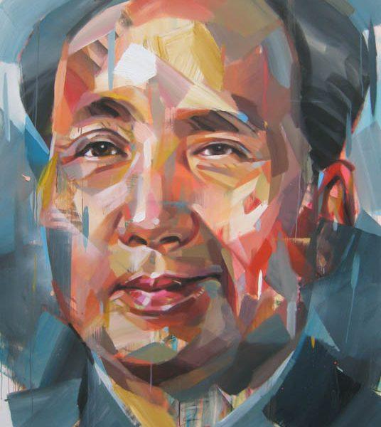 "Pascal Vilcollet ""Mao"" 200 x 160 cm"