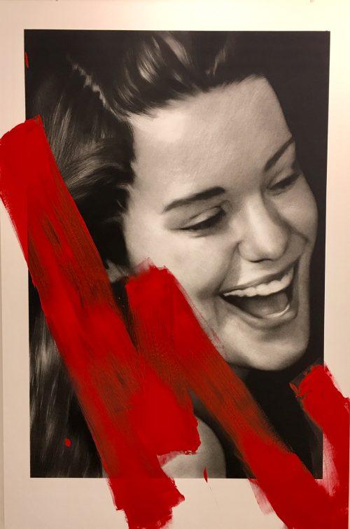 "Valentin van der meulen  ""Dina"" 195 x 130 cm"