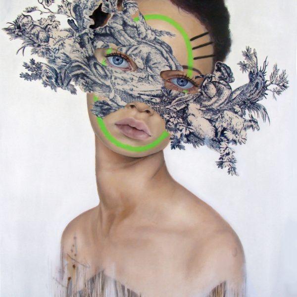 "Teiji Hayama ""Green"" 70 x 90 cm"