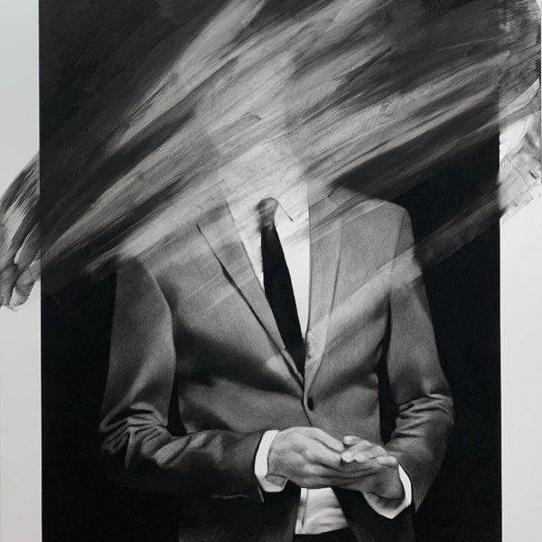 "Valentin van der Meulen ""Costume"" 160 x 130 cm."