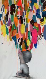 Seth et Pascal Vilcollet 162 x 98 cm