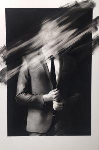 "Valentin van der Meulen ""John"" 195 X 130 cm."