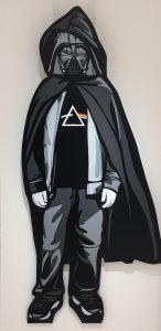 """Joe Iurato """"Dark side"""" 144 x 55 cm."""