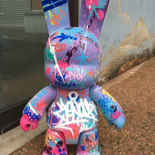 Zenoy Qee Artoyz Toy2R Bunny Blue 45 cm.