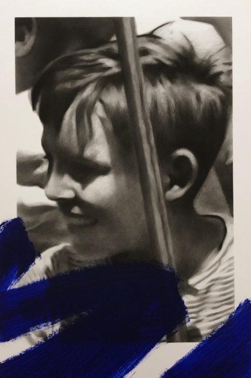 """Valentin van der Meulen """"Antoine"""" 195 x 130 cm."""