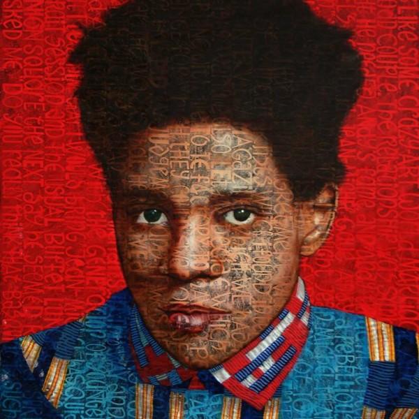 Jean Claude Cuenca - Basquiat - 160 x 130 cm