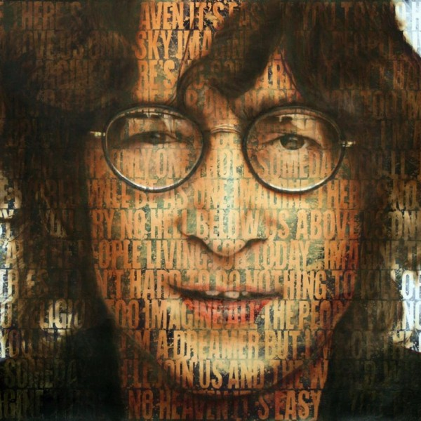 Jean Claude Cuenca - John Lennon - 130 x 97 cm