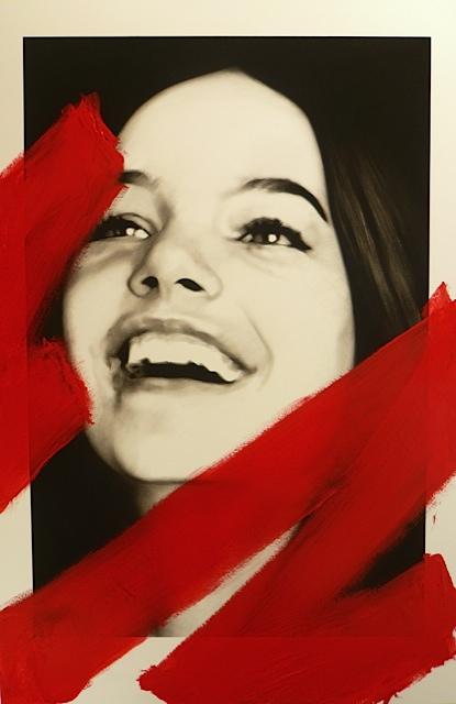 """Valentin van der meulen  """"Charlotte"""" 195 x 130 cm"""