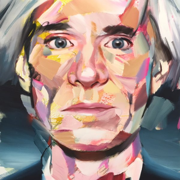 Pascal Vilcollet Andy Warhol Toile