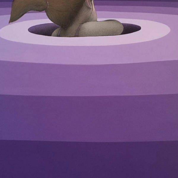 """Seth Globepainter """"Vortex"""" 130 x 97 cm."""