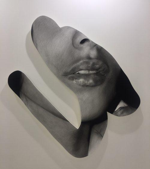 """Valentin van der Meulen """" Aurore"""" 170 x 155 x 10 cm."""