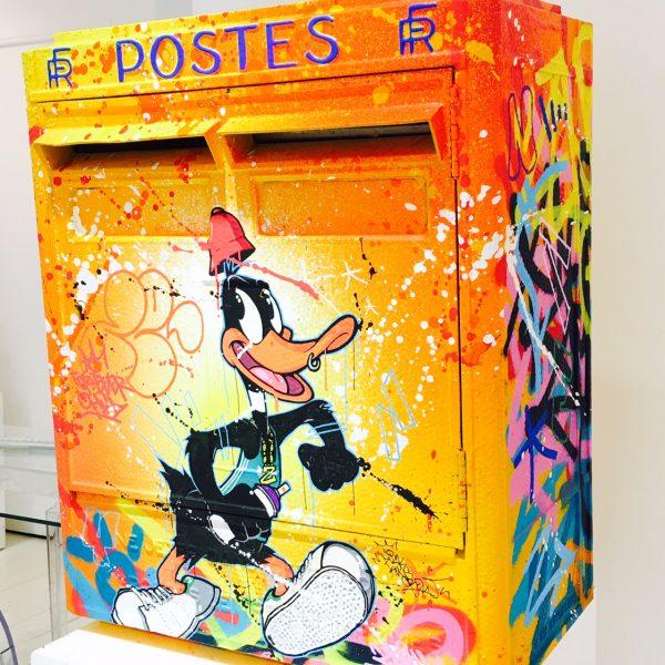 Zenoy boite aux lettres Daffy Duck  57x45x24cm.