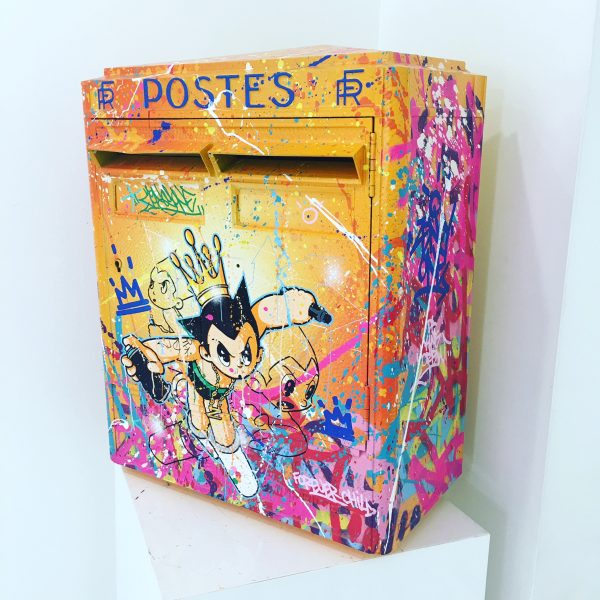 Zenoy Boite aux lettres Astro boy 58 x 43 x 23 cm.