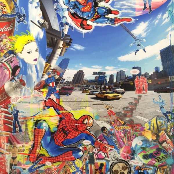 David Cintract - Spiderman - 180 x 146 cm