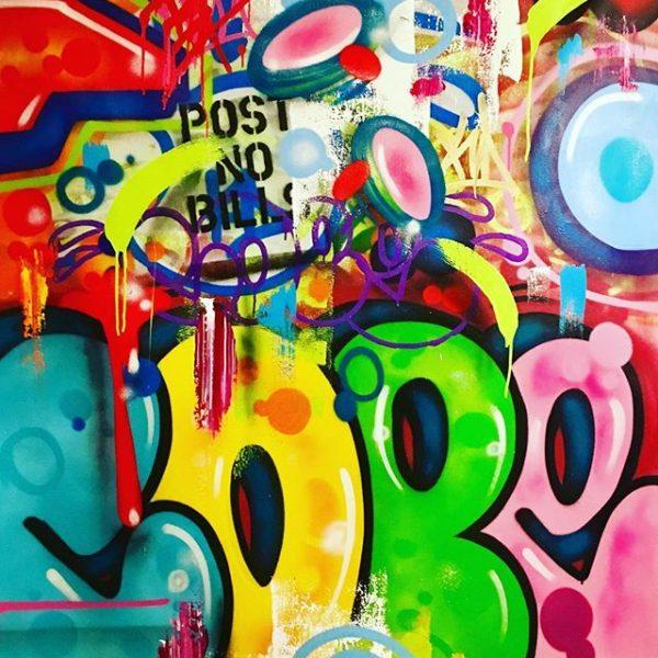 """Cope2 """"BTG"""" 142 x 123 cm"""