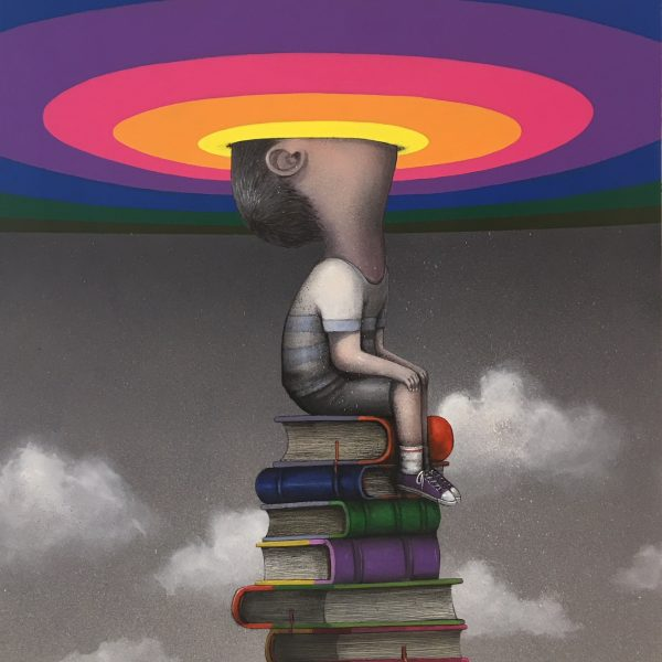 "Seth "" The library ladder"" @galeriegeraldinezberro"