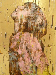 "Marco Grassi ""Super Golden Peanut""  140 x 185 cm."