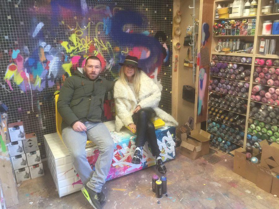 Zenoy & Geraldine Zberro atelier graffiti