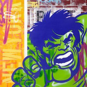 Seen Hulk 140 x 140cm