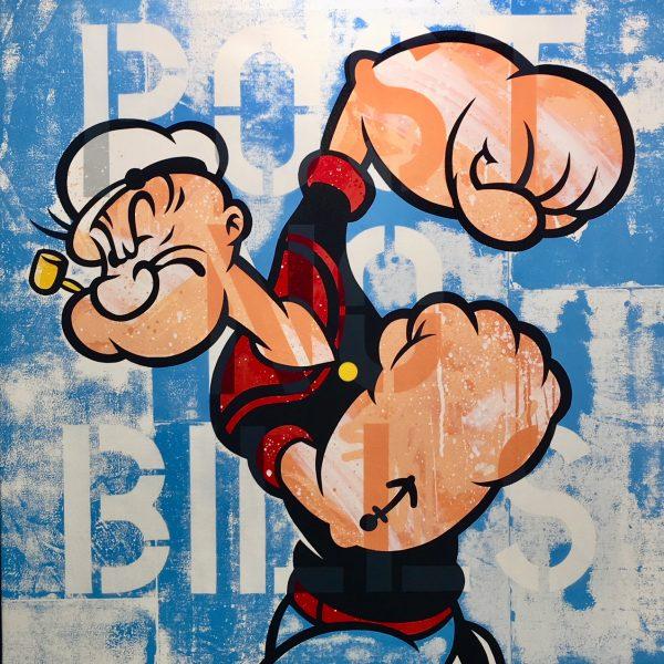 """Seen 'Popeye 100x100 cm """""""