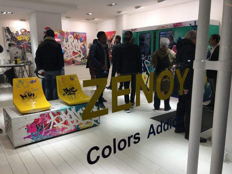 """Zenoy """"Colors addict"""" Galerie Zberro"""