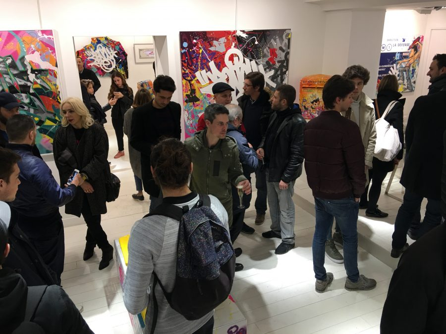 Vernissage Zenoy a la Galerie Géraldine Zberro