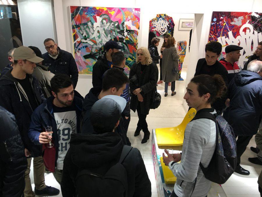 Vernissage Zenoy Galerie Géraldine Zberro