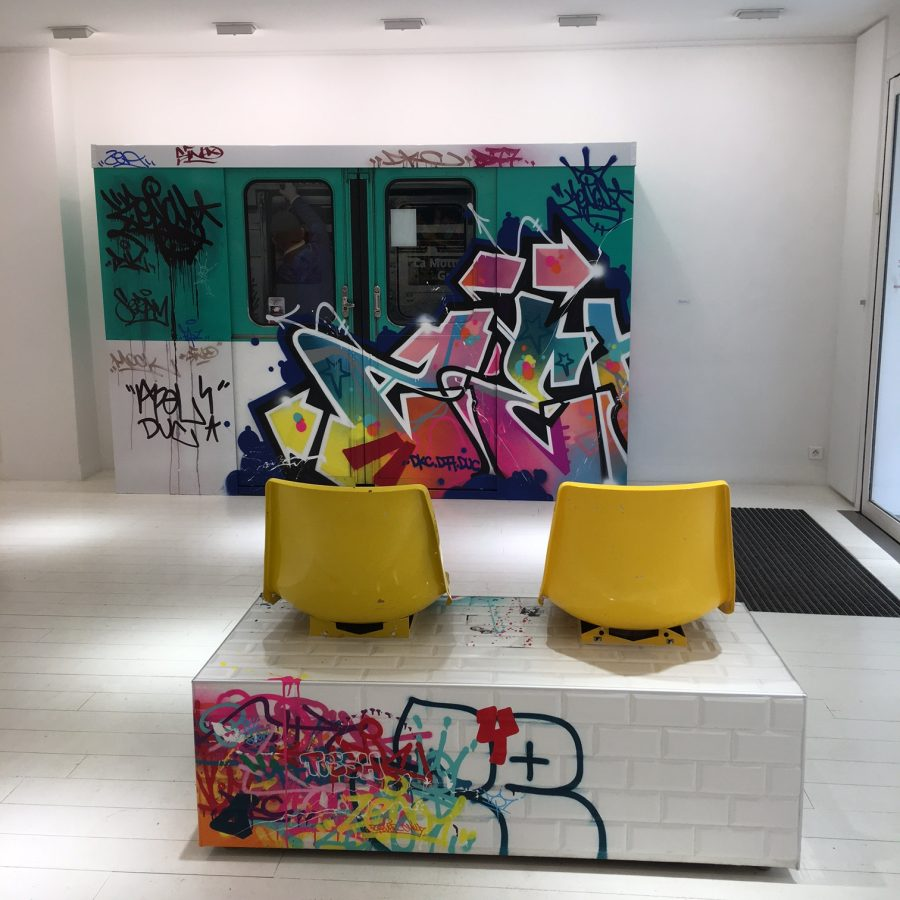 "exposition Zenoy ""Colors Addict"" a la galerie Géraldine Zberro"