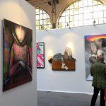 Stand de la Galerie Géraldine Zberro sur Urban Art Fair à Paris