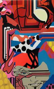 "Pro176 ""Spiderman"" 150 x 100 cm."