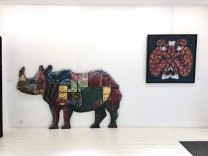 """Exposition """"Undercover"""" Levalet à la galerie Géraldine Zberro à Paris"""