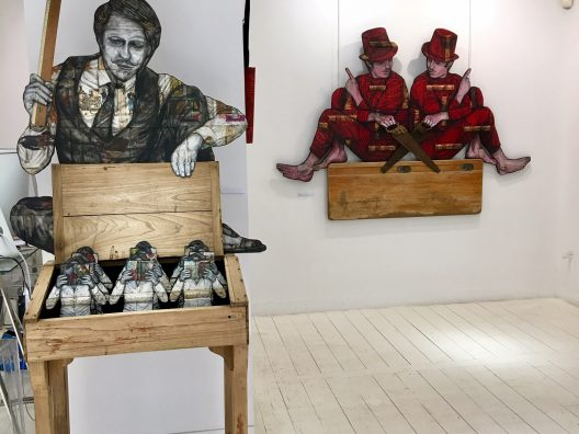 "Exposition ""Undercover"" Levalet"