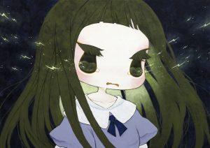 "Ryoko Kaneta ""Lightning 36 x 51 cm."