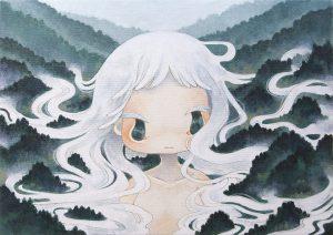 Ryoko Kaneta Mooning Mist 36 x 51 cm.