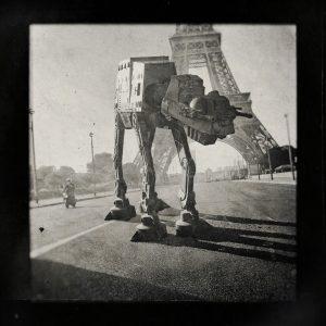 Laurent Pons Star wars Paris Eiffel Tower 2