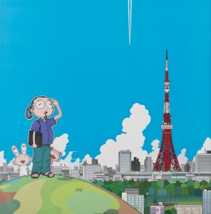 lithographie Murakami