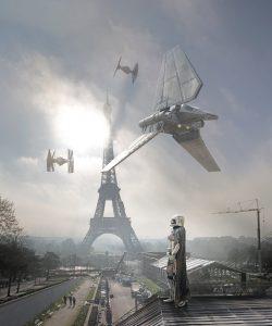"Laurent Pons ""Eiffel imperial"" 90 x 75 cm."