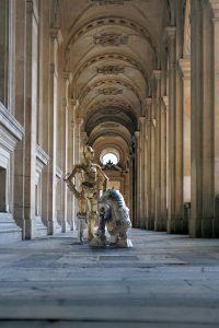 """Laurent Pons """"Louvre Paris"""" 60 x 90 cm."""