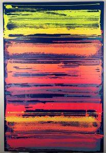 """""""Fréquence"""" 195 x 130 cm"""