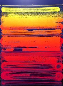 """Zest """"Fréquence"""" 130 x 100cm"""