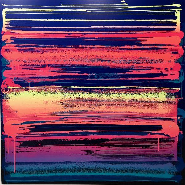 """Zest """"Fréquence"""" 150x150cm"""