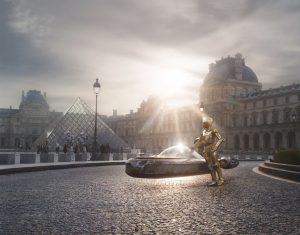"""Laurent Pons """"Star Wars Louvre Paris"""""""