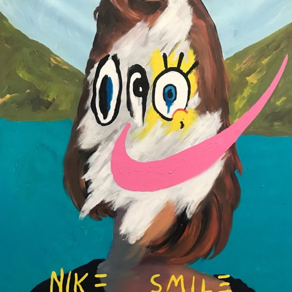 "John Paul Fauves ""Nike Smile"" 165 x 135 cm."