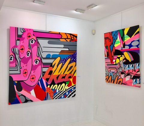 Exposition Pro176 @ Galerie Géraldine Zberro Paris juin 2018