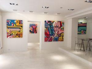 "Exposition Pro 176 @GalerieGéraldineZberro ""Perpetual Ascension"