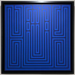 l'atlas 80x80 cm blue 1