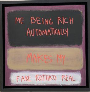 fake rothko 50x50 cm