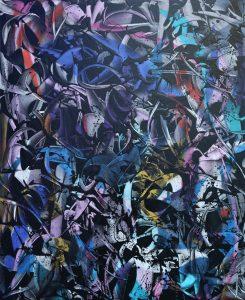 "Rafael Sliks ""Flores"" Oil on canvas 100 x 120 cm."